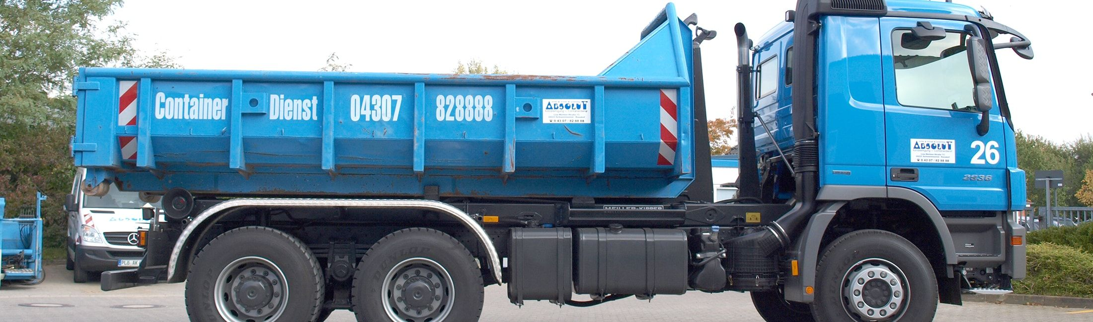 Absolut Container LKW